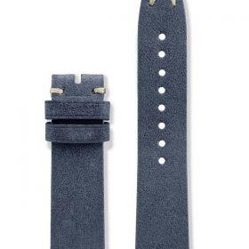 Vintage Italian Leather Strap (Blue)